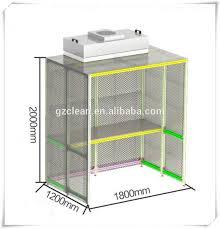 ventilation chambre flux d air laminaire chambre de nettoyage banc ventilation capot