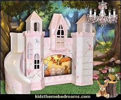 Princess Castle Bunk Bed Decorating Theme Bedrooms Maries Manor Theme Beds Novelty