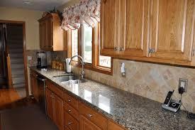 Granite Countertops And Tile Backsplash Ideas Eclectic Kitchen - Tile backsplashes with granite countertops