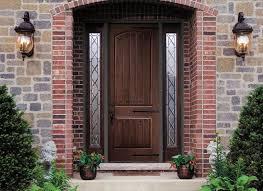Fiberglass Exterior Doors With Sidelights Doors Astounding Fiberglass Front Doors 9 Lite Fiberglass