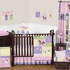 Pony Comforter Sweet Jojo Designs Pretty Pony Crib Bedding Collection Bed Bath