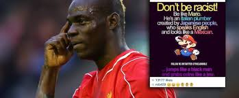 Racist Meme - mario balotelli facing fa investigation after posting racist mario