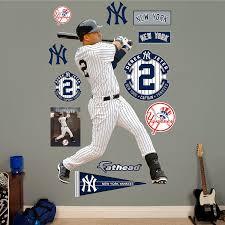 New York Yankees Home Decor Amazon Com Mlb New York Yankees Derek Jeter Legacy Fathead Wall