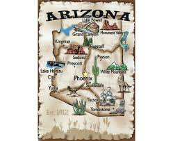 Map Of Prescott Arizona by Maps Of Arizona State Collection Of Detailed Maps Of Arizona