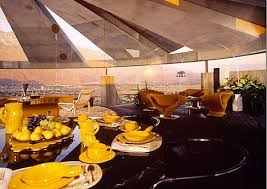 Buffet In Palm Springs by Designed By John Lautner In 1968 The Elrod House In Palm Springs