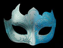 blue masquerade masks blue and silver masquerade mask masquerade masks shop