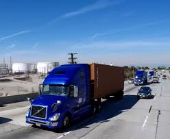 volvo highway tractor volvo trucks successfully demonstrates on highway truck platooning