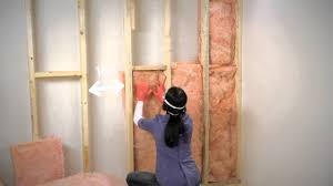 Insulating Basement Concrete Walls by How To Insulate Exposed Basement Walls Youtube