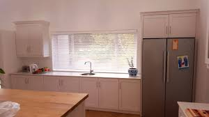 whitewash venetians in the kitchen tlc blinds cape town