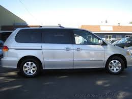 2003 honda odyssey minivan 2003 used honda odyssey ex l at k f auto serving cbell ca iid
