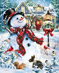 Old Fashioned Christmas Ornaments Old Fashioned Holiday Jigsaw Puzzle Puzzlewarehouse Com