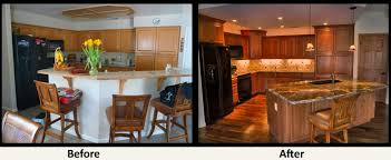 kitchen remodeling ideas before and after bi level kitchen remodels before and after small bathroom