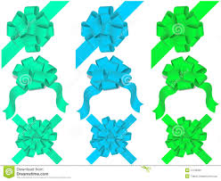 decorative bows vector set of decorative bows stock image image 14728281