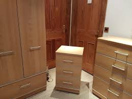 Alstons  Piece Wardrobe And Chest Of Drawers Set Manhattan Range - Alston bedroom furniture