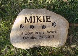 dog grave markers personalized dog memorial stones kingcustom net