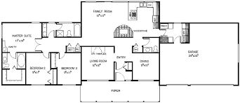 2 bedroom ranch floor plans 3 bedroom ranch floor plans three bedroom ranch hwbdo68687