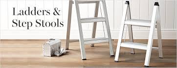 ladders u0026 step stools williams sonoma