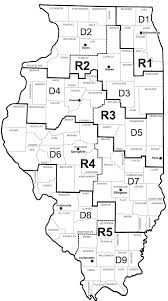 Road Map Of Illinois by Illinois Transportation Enhancement Program
