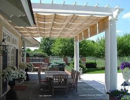Waterproof Pergola Covers by Pergola Design Ideas Pergola With Retractable Awning Ideas About