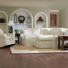 White Slipcover Sofa white slipcovered sofa with chaise best home furniture decoration