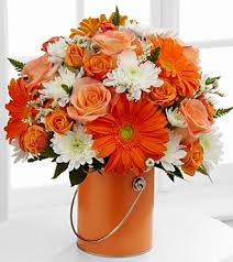 Flowers Delivered With Vase The Color Your Day With Laughter Bouquet By Ftd Vase Included