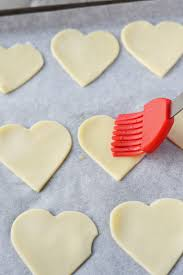 heart shaped crackers heart shaped cherry pies butter your biscuit