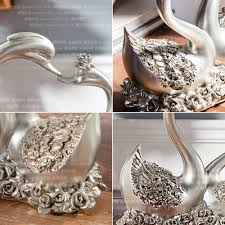 aliexpress buy one pair home decor wedding gift swan couples new