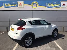 nissan juke doors open used nissan juke acenta dci white 1 5 hatchback bridgend