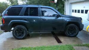 chevrolet trailblazer white got bored and plastidip my wheels chevy trailblazer trailblazer
