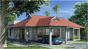 single storey kerala style traditional villa in sq ft floor house
