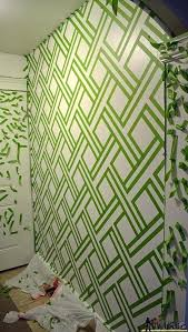 wall paint patterns wall paint design ideas with tape pattern achieved tape love done