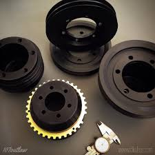 billet m117 under drive pulley with option for supercharger drive