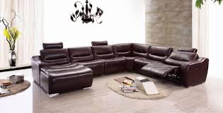leather sectional sofa with recliner leather sectional living room furniture spurinteractive com