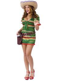 Chica Halloween Costume Tequila Chica Costume Cinco Mayo Costume