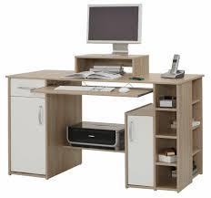 Schreibtisch Kernbuche Nachbildung Shopthewall Computertisch Schreibtisch Pc Tisch Lotta In Sonoma