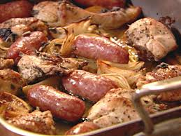 one pan and chicken and sausage recipe nigella lawson