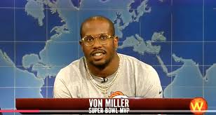 Von Miller Memes - watch von miller flexes his science muscles trolls cam newton on