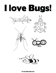 preschool coloring pages bugs bug coloring pages for preschool goseas me