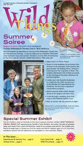 may june 2017 wild things by zoological society of milwaukee issuu
