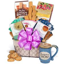 mothers day gift baskets happy s day gift basket by gourmetgiftbaskets