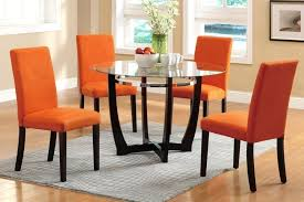 dining table red leather dining table chairs large size of