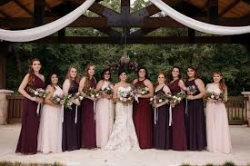 wedding colors wedding color wednesday maroon lilac chagne
