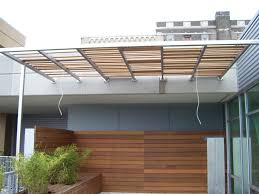 Wood Divider Exterior Design Unique Custom Natural Wood Awning For Patio Loft