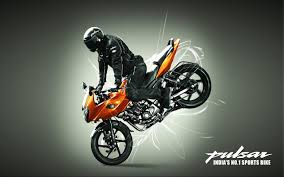 bajaj pulsar stunt mania images and with resolution 1280x800