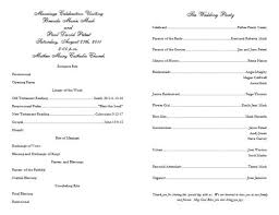 blank wedding program templates 13 best wedding programs images on wedding program