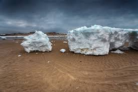 giant icebergs wash up on cape cod barnstable ma patch