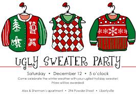 sweater invitation template free themesflip