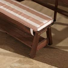 Bench Table Kidkraft Outdoor Table U0026 Bench Set With Cushions U0026 Umbrella