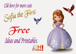 princess sofia the first free printable labels is it for