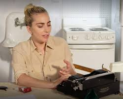 welcome to the typosphere lady gaga is interviewed with her